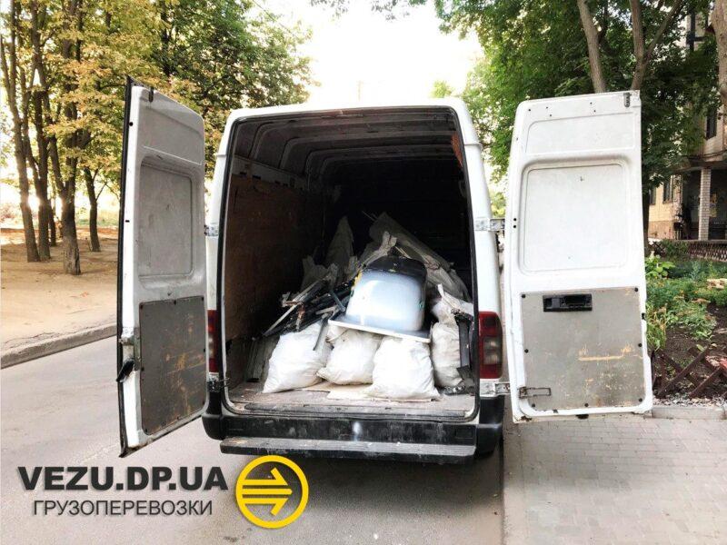 вывоз строительного мусора днепр