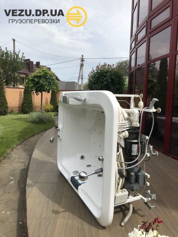 Перевозка кафеля и сантехники Днепр