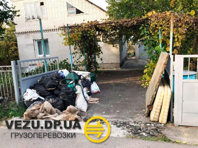 вывоз строительного мусора подгородное